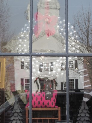 window display Nest Dedham MA