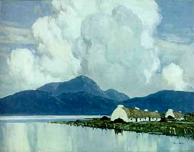 In Connemara by Irish artist Paul Henry