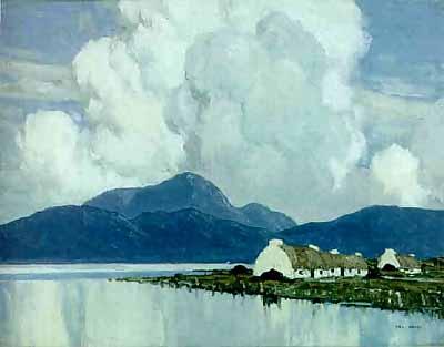In Connemara by Irish artist Paul Henry