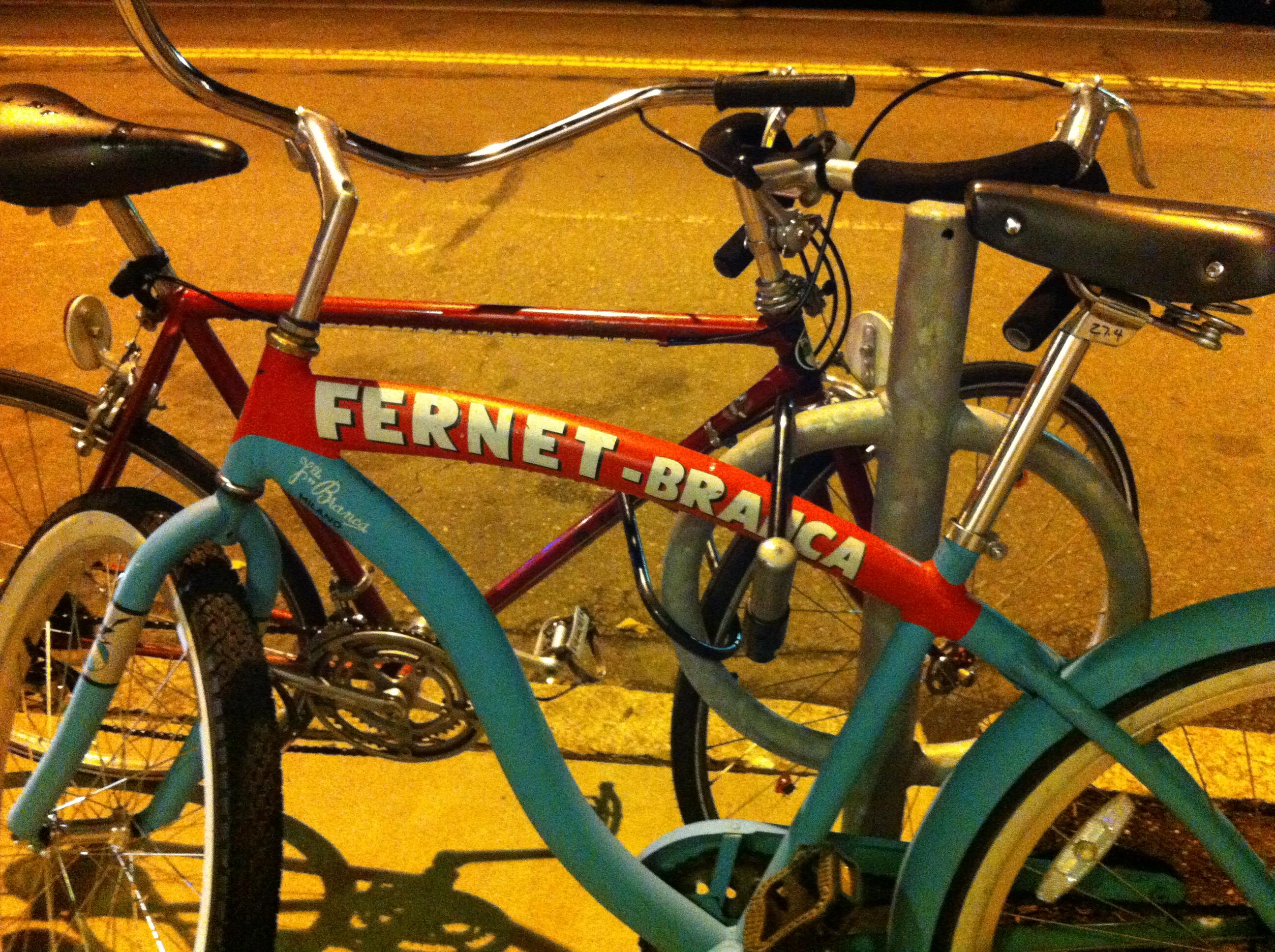 Fernet Branca Bike
