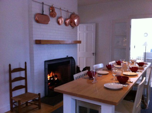 kitchen8 long table copper